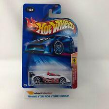 Ferrari 333 SP #132 * White * 2004 Hot Wheels * Q6