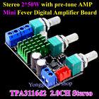 TPA3116D2 2.0CH Class D 50W+50W High Power Stereo Digital Amplifier Board 2x50W