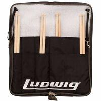 Ludwig LX31BO Atlas Classic Heirloom Drum Stick Bag - Holds 20 Drumsticks