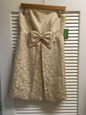 NWT Lilly Pulitzer Betsey Dress Jacquard in Vanilla Got it Made Brocade