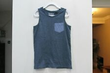 Boys Blue Next Vest Top Size 9 Years Good Condition