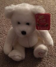 Fiesta White Bear with Red Heart
