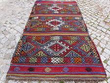 "Anatolian Turkish kayseri Nomads Kilim rug 28"" x 54"" Area Rug Kelim Carpet"