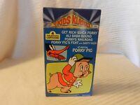 Kids Klassics 4 Animated Cartoons Starring Porky Pig VHS Tape 1985