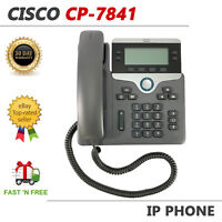 Cisco CP-7841 Business Office VoIP Phone Display PoE
