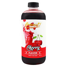Crave It 18 Ounce Cherry Flavor Syrup 18 oz