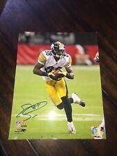Emmanuel Sanders Autograph 11x14 Photo Pittsburgh Steelers