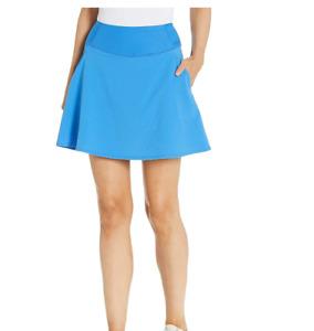 "PUMA Golf 2020 Women's Pwrshape Solid Woven Skirt 16"" Palace Blue XXS, NWT"
