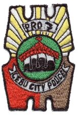 Philippines National Police PNP Cebu City Police Department 4 x 2.75in