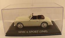 Altaya Simca Sport (1949) 1/43 en boite