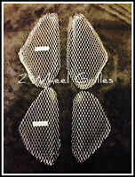 1999 HONDA CBR900RR CHROME FAIRING GRILLS SCREENS VENTS MESH GRATES