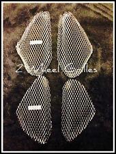 2005-2006 SUZUKI GSXR 1000 CHROME FAIRING GRILLS SCREENS MESH VENTS GRATES