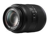 Panasonic Lumix G Vario 45-200mm F4-5.6 Mega O.I.S. Zoom Lens 【Near Mint】