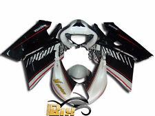 CARENE FAIRING IN ABS MV AGUSTA F4 1000 2005 2006 BLACK STAMPO AD INIEZIONE