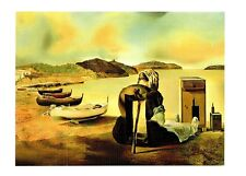 (09722) Postcard - Salvador Dali Painting - The Weaning of Furniture Nutrition