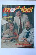 DDR Fernsehzeitschrift FF Dabei RARITÄT 28/1988 TOP !!