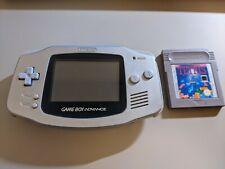 Nintendo Game Boy Advance Silber Kaputt + Tetris Spiel