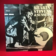 Shakin' Stevens & The Sunsets 1981 UK Vinyl LP EXCELLENT CONDITION JULEP 20