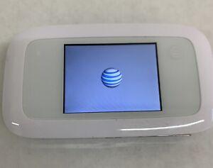 ZTE Velocity MF923 4G LTE Hotspot Mobile Wifi White AT&T