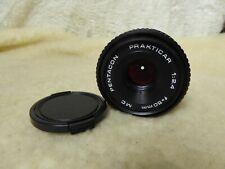 Prakticar Pentacon 50mm 1:2.4 MC Pancake lens, works OK Praktica PB camera mount