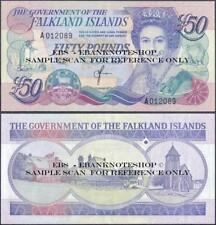 Falkland Islands,P16,1990,50 Pounds,Uncirculated,QE II@ Ebanknoteshop