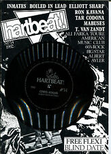 """HARTBEAT! No.14 Magazine with Flexi 7"""" by Chris Adams (ex- String Driven Thing)"""