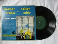 "Nelson Eddy and Eleanor Steber, New Moon, 10"" vinyl LP with sleeve"