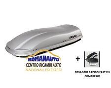 *GRIGIO GOFFRATO* BAULE FARAD MARLIN F3 N6 480 LT (Box Auto Portabagagli tetto)