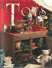 Toys To Enchant Decorative Painting Book NSTDP 1988 Doll Cradle Carousel Clowns