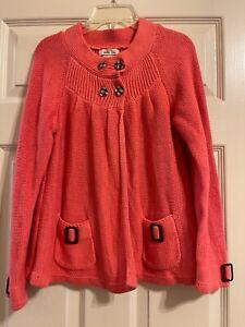 Matilda Jane Flutterby Wing Sweater Girls Secret Fields Size 12