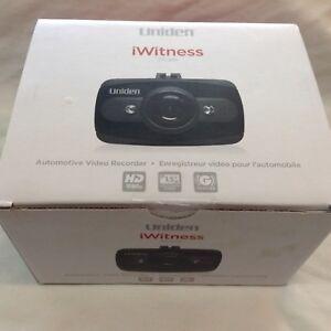 NEW Uniden iWitness DCam Automotive Video Recorder