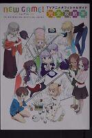 JAPAN NEW Shotaro Tokuno: New Game! TV Animation Official Guide Book