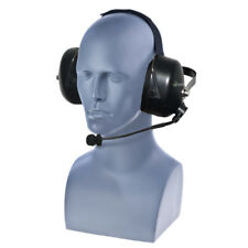 Impact K2-PDM-3(w/WPTT-Cable) Dual Muff Headset for Kenwood TK and NexEdge