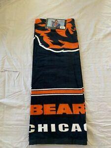 "Chicago Bears NFL 30"" x 60"" Beach Towel McArthur Brand New"