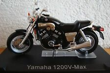 Yamaha 1200   V MAX  schwarz - black  -Topmodell  1:24