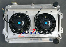 3ROW Mazda RX7 RX-7 S1 S2 S3 1979-1985 All-Aluminum Radiator MT & SHROUD & FAN