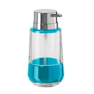 OGGI New Aqua Band 11oz Acrylic Lotion & Soap Dispenser for Kitchen & Bath