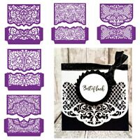 Hollow Lace Patchwork Cutting Dies Scrapbooking Photo Album Embossing Gift Card