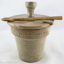 Ancien Moutardier LES ARGONAUTES VALLAURIS Céramique 50 picault/ferlay/capron...