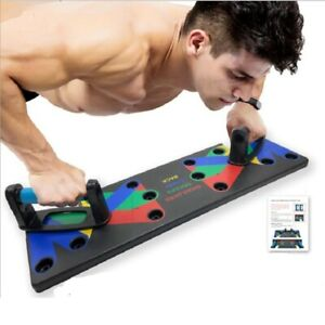QUADROPRESS - 9 in 1 Push Up Rack Board Men Women Fitness Exercise Push-up Stand