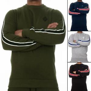 Enzo Mens Sweatshirt Crew Neck Jumper Designer Jersey Winter Warm Fleece Sweater