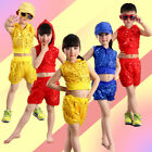 Cool Sequined Hip Hop Dance Wear Children's Jazz Modern Dance Costume