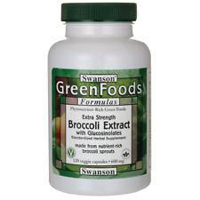 Swanson Extra-Strength Broccoli Extract with Glucosinolates 600 mg 120 Veg Caps