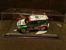 Voiture de rallye 1/43 Skoda Fabia S2000