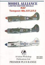 Model Alliance 1/48 Hawker Tempest Mk.Ii/F.2/f.6 Post War # 489021