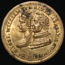 1831 | William IV & Queen Adelaide Coronation Medal | Medals | KM Coins