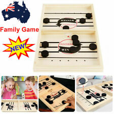 Wooden Hockey Game Table Game Family Fun Game for Kids Children