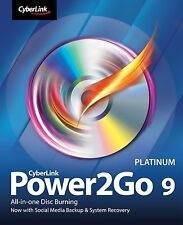 Cyber Link Power2go Platinum Version 9 cd