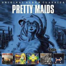 PRETTY MAIDS - ORIGINAL ALBUM CLASSICS 5 CD NEUF