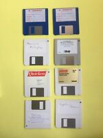 Genuine Mixed Lot Mac Vintage 80's 90's Macintosh Software Floppy Disks